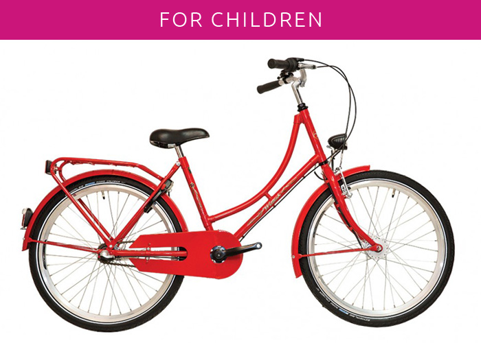 Malaga bicycle rental – child bikes