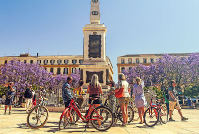 Malaga bike tours – guided bike tour Malaga